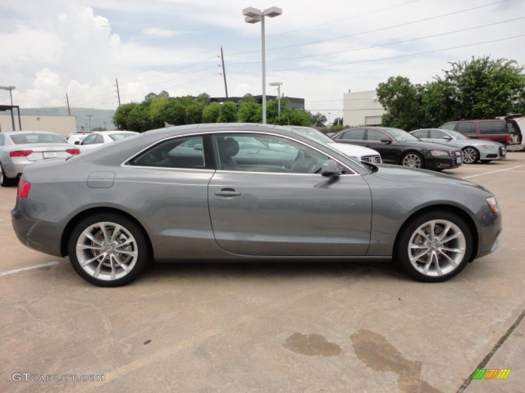 Monsoon Gray Metallic 2013 Audi A5 2.0T quattro Coupe Exterior Photo #67570468   GTCarLot.com