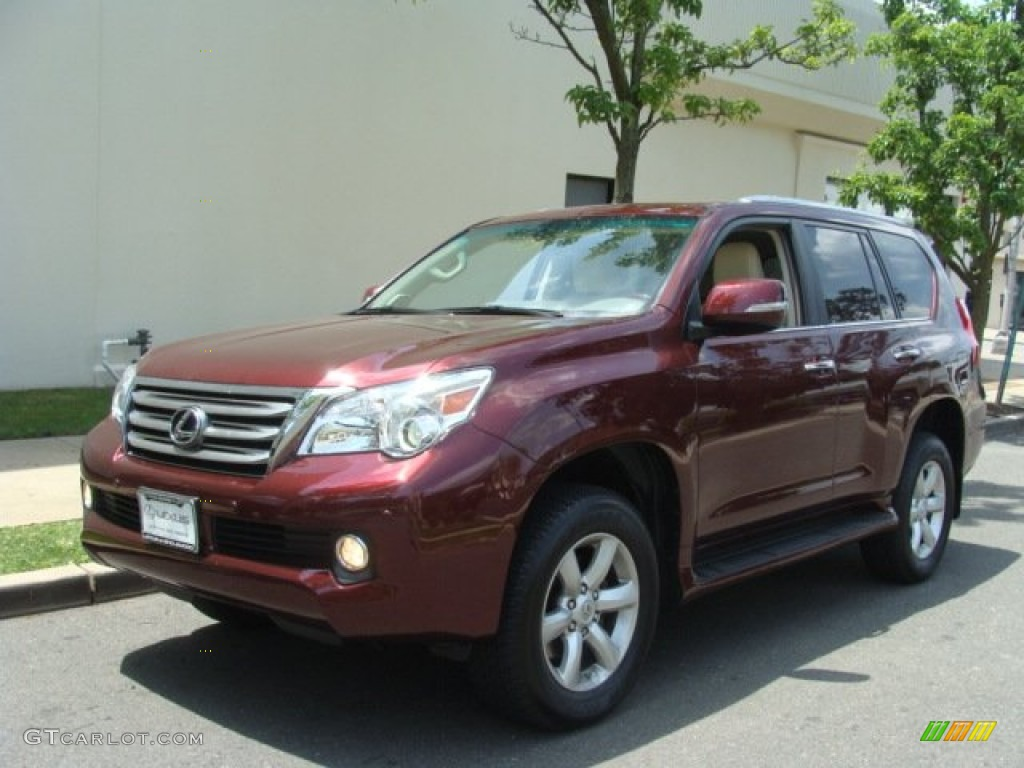 2010 Claret Red Pearl Lexus Gx 460 67566300 Car Color Galleries