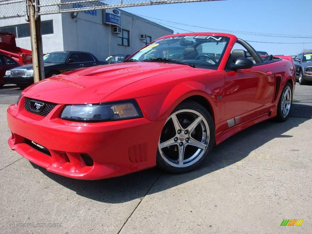 2003 torch red ford mustang saleen s281 supercharged convertible 2003 mustang saleen s281 supercharged convertible torch red dark charcoal photo 1 sciox Images