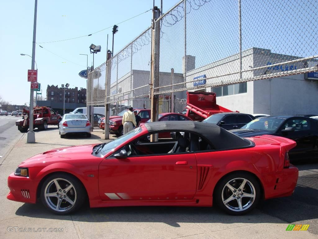 2003 torch red ford mustang saleen s281 supercharged convertible 2003 mustang saleen s281 supercharged convertible torch red dark charcoal photo 3 sciox Images