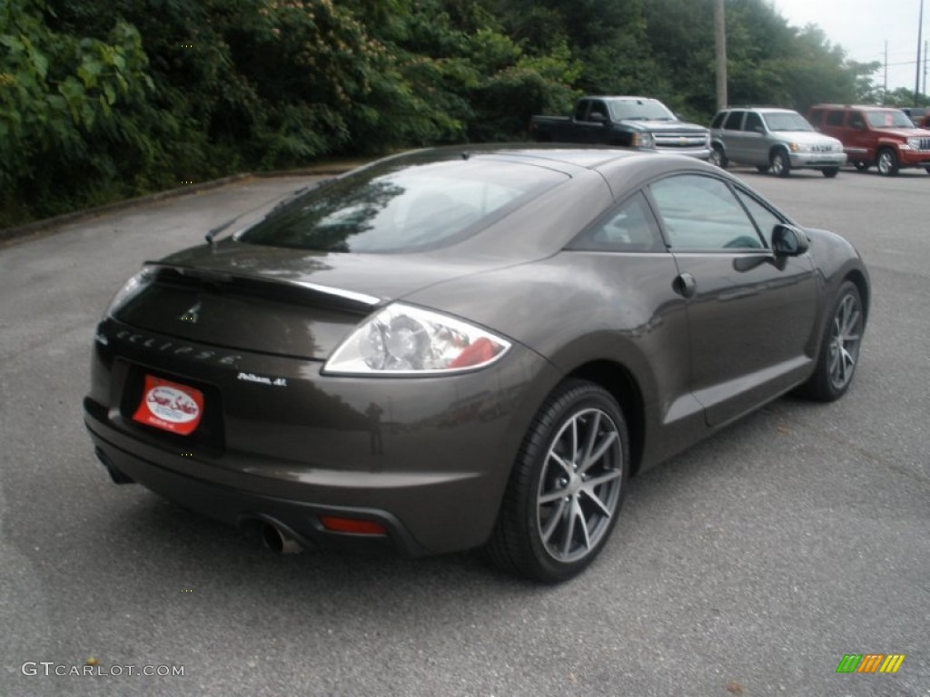 2012 Eclipse SE Coupe   Carbon Pearl / Dark Charcoal Photo #7