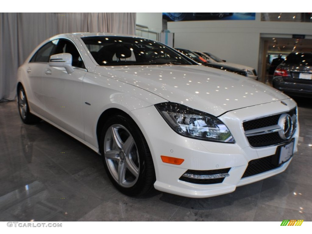 2012 diamond white metallic mercedes benz cls 550 4matic for Mercedes benz cls550 4matic