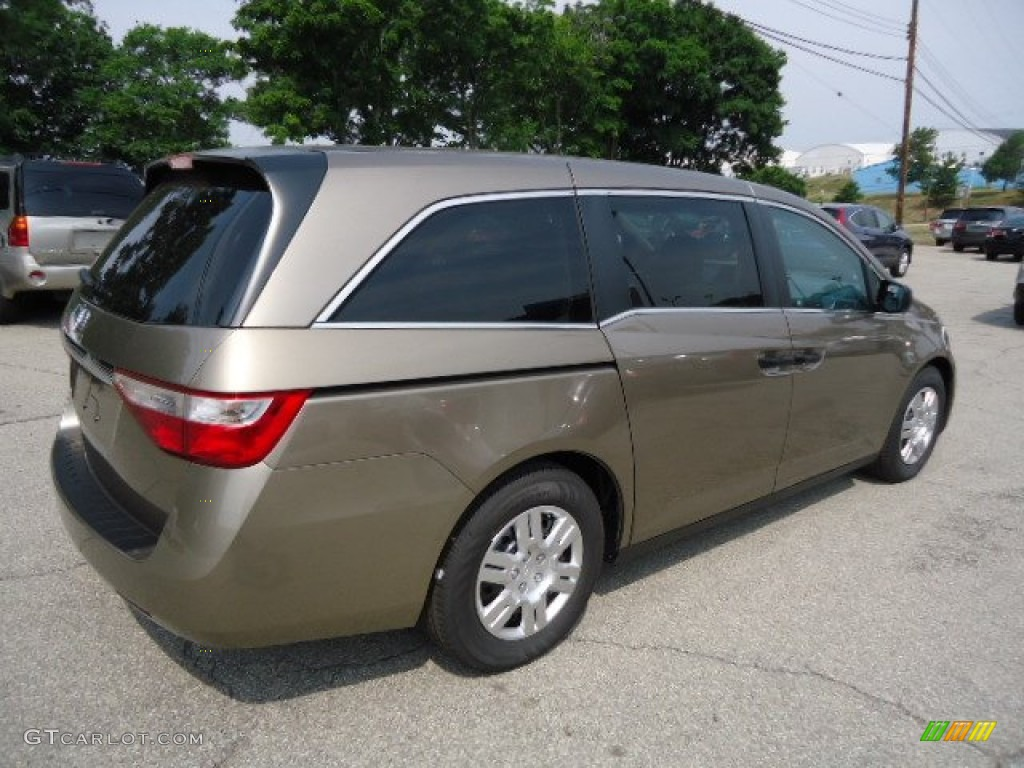 mocha metallic 2012 honda odyssey lx exterior photo 67582270