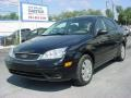 2005 Pitch Black Ford Focus ZX4 S Sedan  photo #7