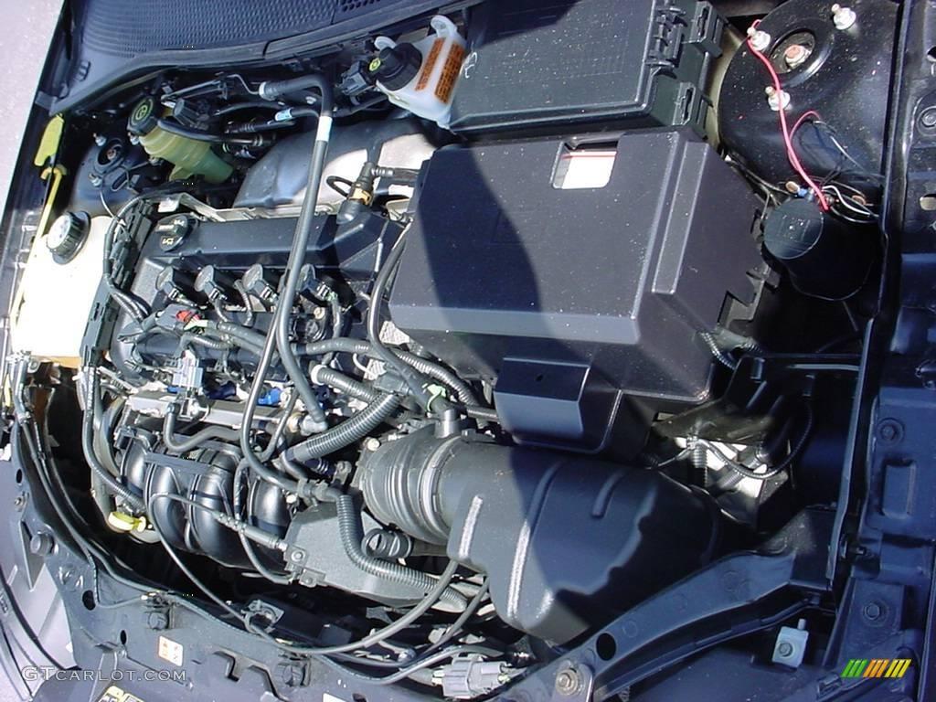 2005 Focus ZX4 S Sedan - Pitch Black / Dark Pebble/Light Pebble photo #15