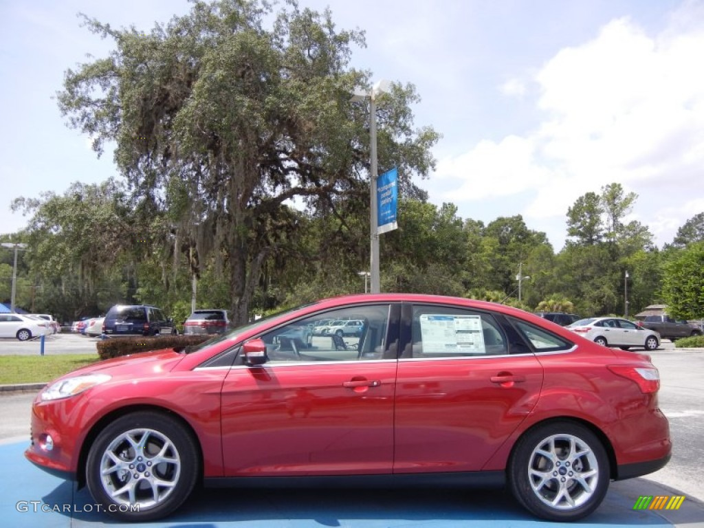 Red Candy Metall...2009 Ford Focus Sel Specs