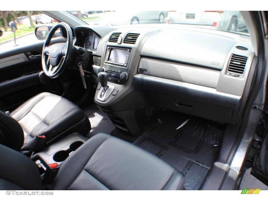 2011 CR-V EX-L 4WD - Polished Metal Metallic / Gray photo #9
