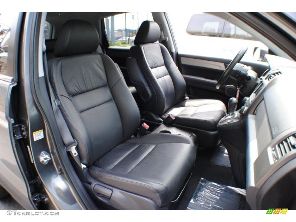 2011 CR-V EX-L 4WD - Polished Metal Metallic / Gray photo #10