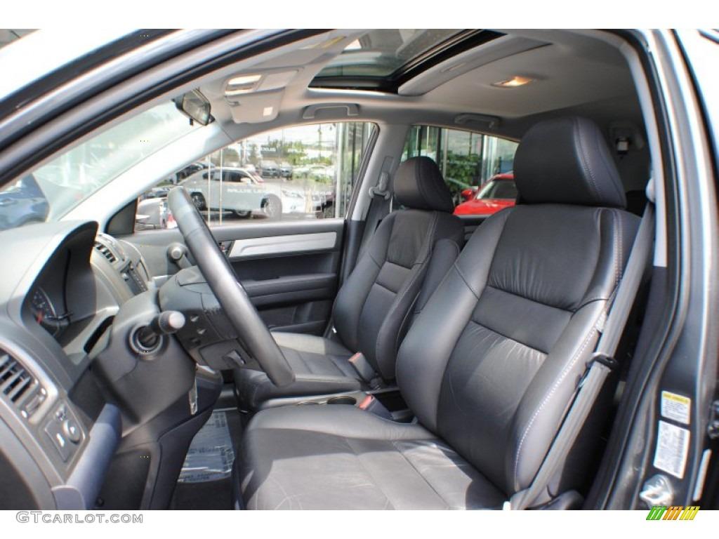2011 CR-V EX-L 4WD - Polished Metal Metallic / Gray photo #12