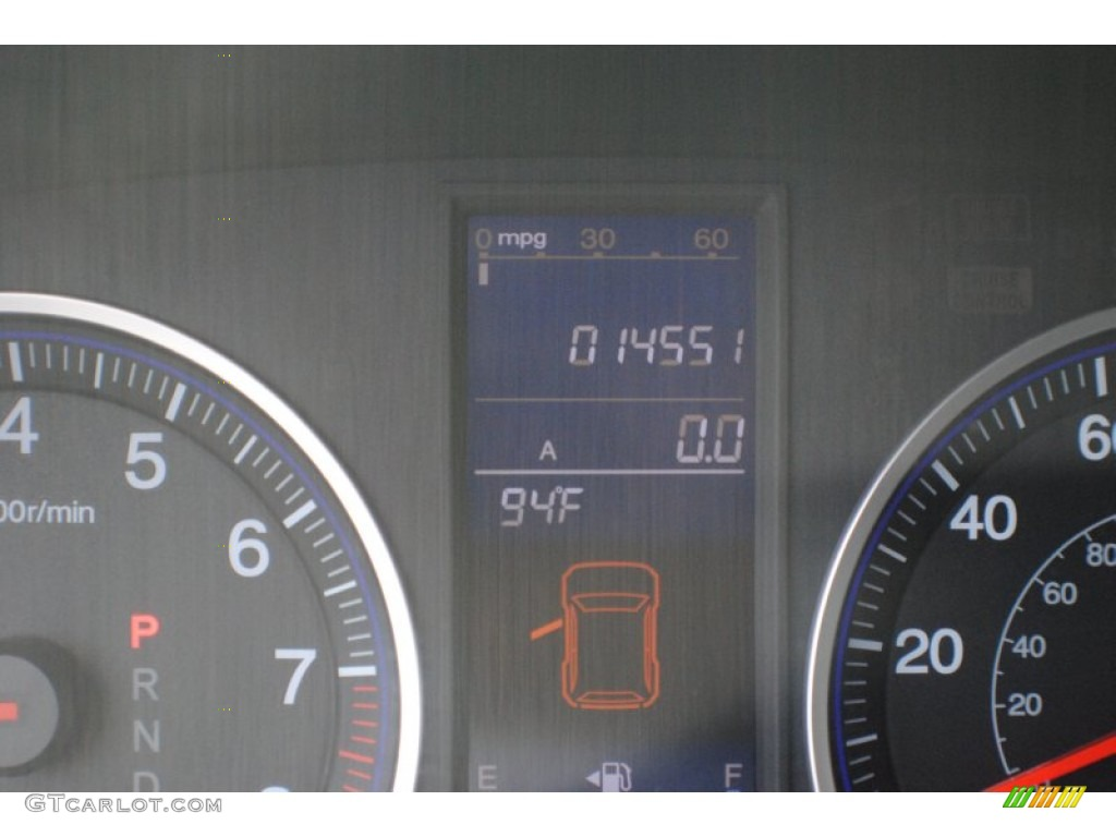 2011 CR-V EX-L 4WD - Polished Metal Metallic / Gray photo #15