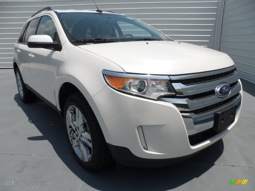 2013 white platinum tri coat ford edge sel 67593861 car color galleries. Black Bedroom Furniture Sets. Home Design Ideas