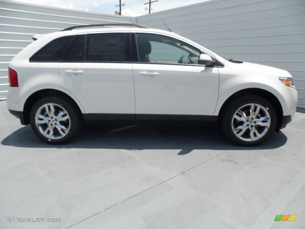white platinum tri coat 2013 ford edge sel exterior photo 67618791. Black Bedroom Furniture Sets. Home Design Ideas