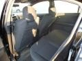 2010 Nissan Sentra SE-R Charcoal Interior Rear Seat Photo