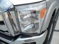 2012 Ingot Silver Metallic Ford F250 Super Duty Lariat Crew Cab 4x4  photo #8