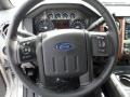 2012 Ingot Silver Metallic Ford F250 Super Duty Lariat Crew Cab 4x4  photo #38
