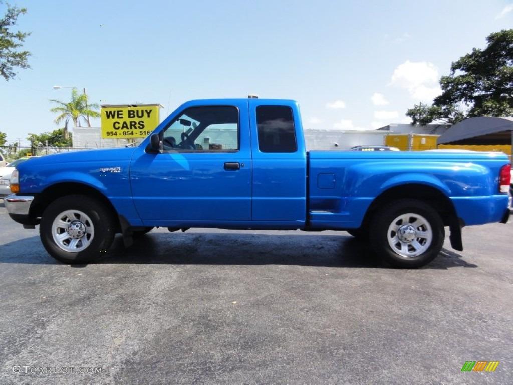 Bright Atlantic Blue Metallic Ford Ranger