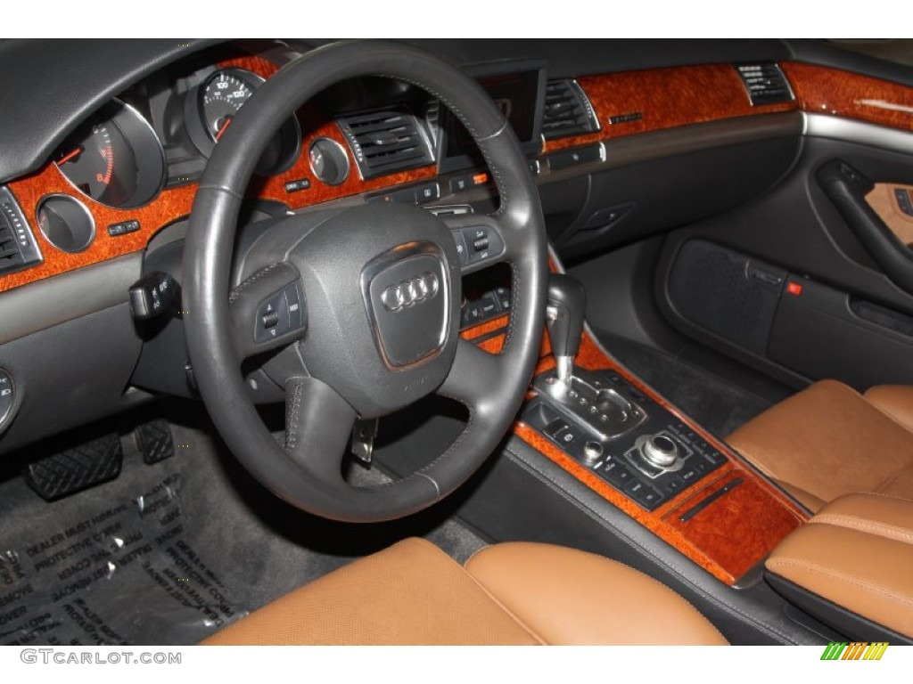 Black Amaretto Interior 2006 Audi A8 4 2 Quattro Photo