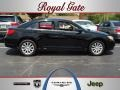 Brilliant Black Crystal Pearl 2011 Chrysler 200 Touring