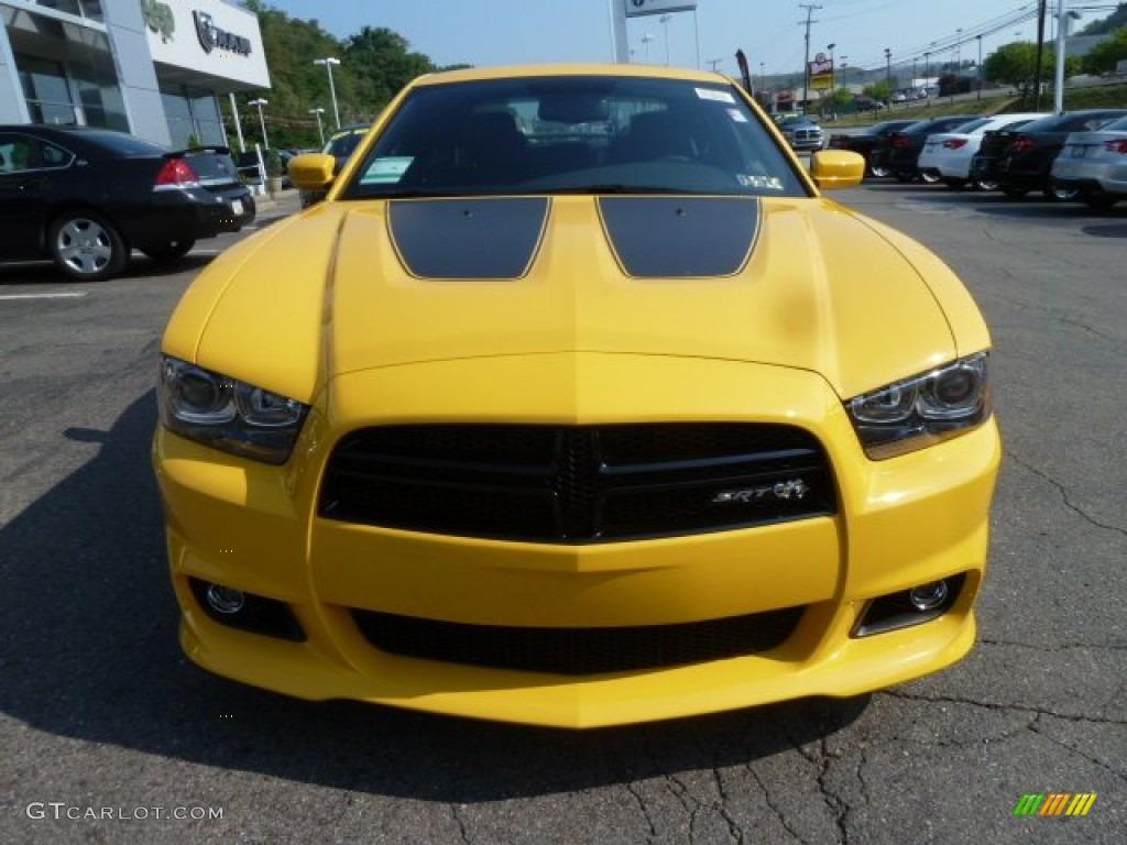 2012 Stinger Yellow Dodge Charger SRT8 Super Bee 67644908 Photo