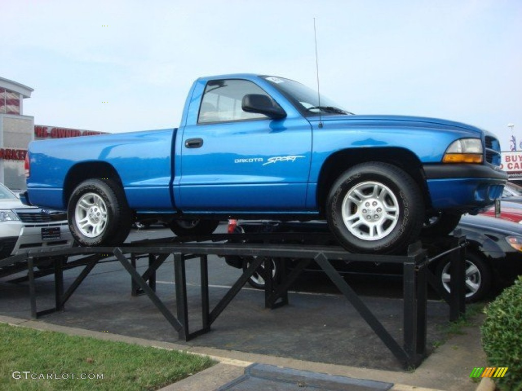Intense Blue Pearl 2001 Dodge Dakota Sport Regular Cab Exterior Photo 67669972 Gtcarlot Com
