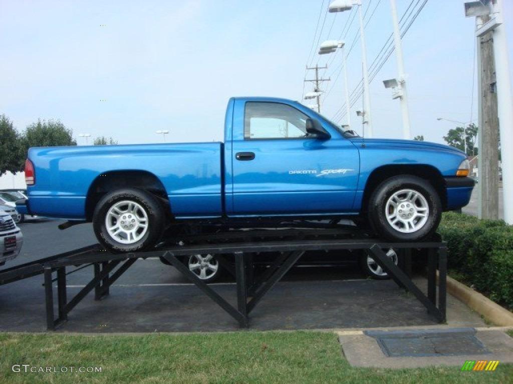 on 1991 Dodge Dakota Blue