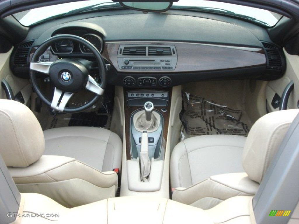 2003 Bmw Z4 3 0i Roadster Beige Dashboard Photo 67671025