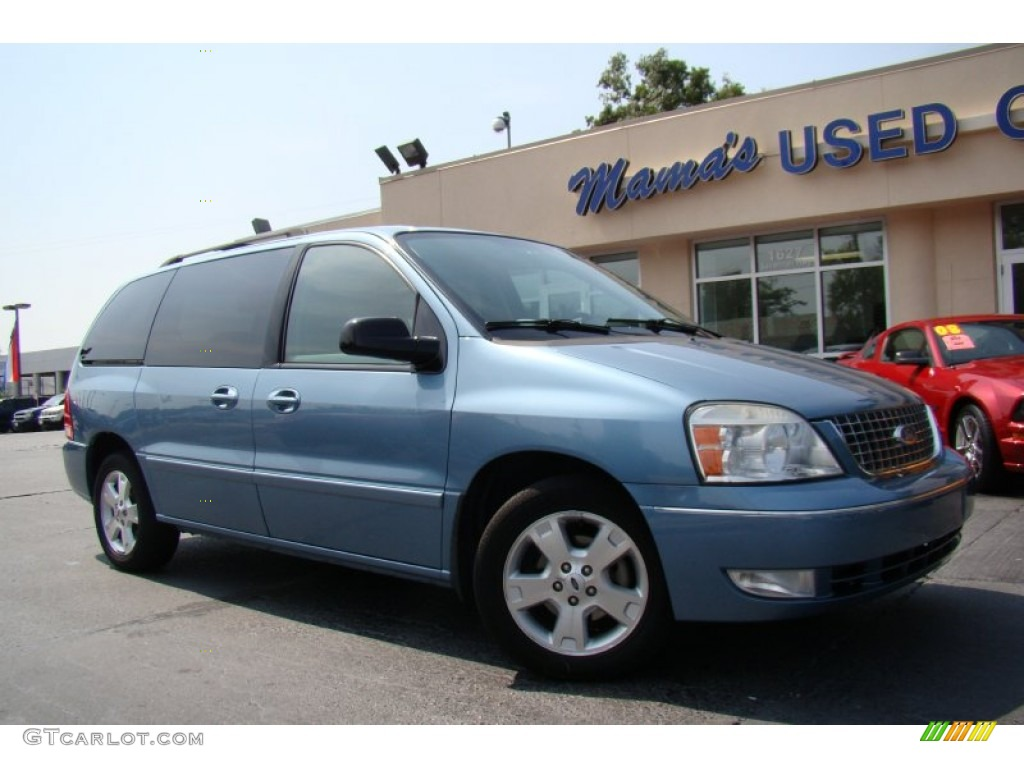 2007 freestar sel windveil blue metallic flint gray photo 29