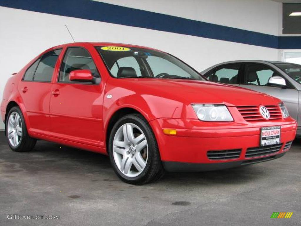 2001 tornado red volkswagen jetta glx vr6 sedan 6744626. Black Bedroom Furniture Sets. Home Design Ideas