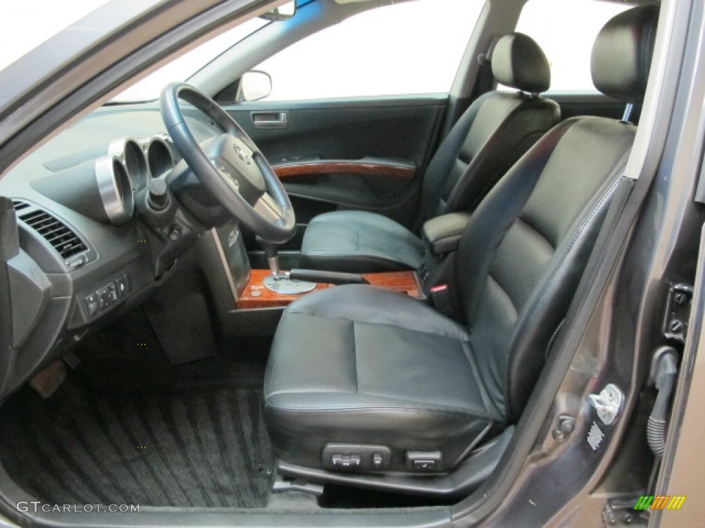Black Interior 2004 Nissan Maxima 3 5 Sl Photo 67690588