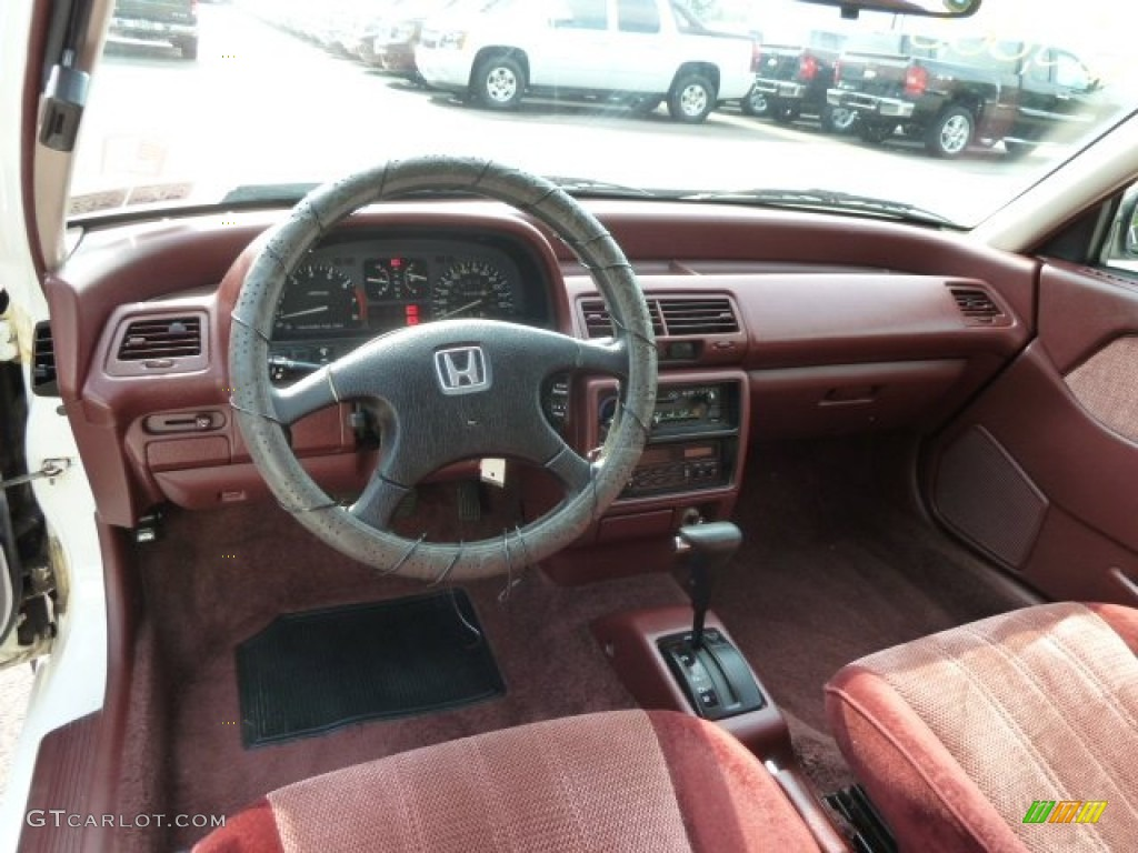 1990 Honda Civic Ex Sedan Dashboard Photos