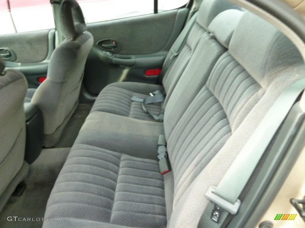 2001 Pontiac Grand Prix Gt Sedan Rear Seat Photos