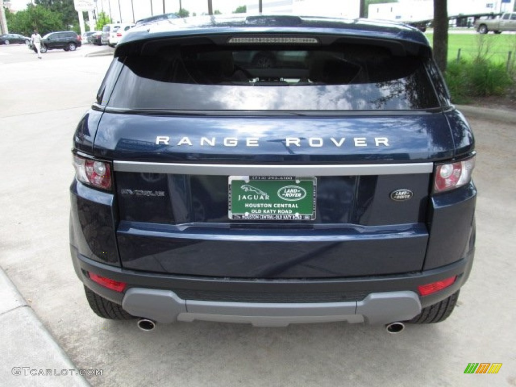 Range Rover Evoque Baltic Blue 2012 Baltic Blue Metal...