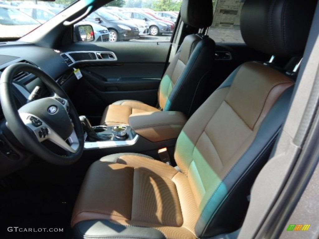 pecancharcoal black interior  ford explorer limited wd photo  gtcarlotcom