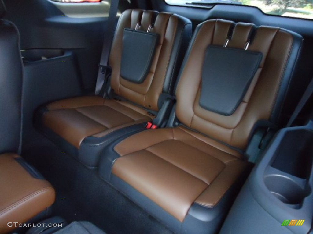 Pecan/Charcoal Black Interior 2013 Ford Explorer Limited 4WD Photo #67705882