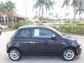 Nero (Black) 2012 Fiat 500 Pop Exterior