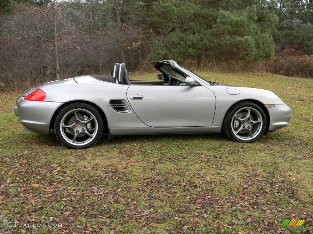 gt silver metallic 2004 porsche boxster s 550 spyder. Black Bedroom Furniture Sets. Home Design Ideas