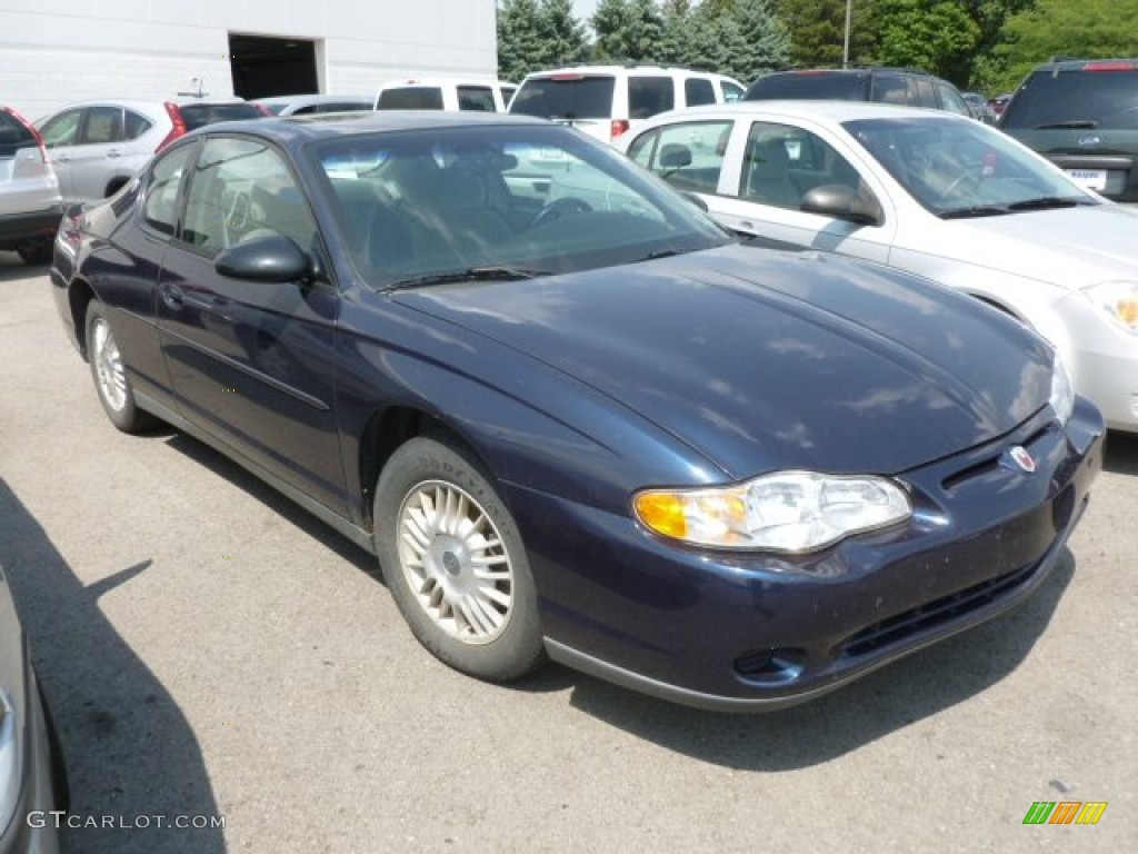 navy blue metallic 2000 chevrolet monte carlo ls exterior. Black Bedroom Furniture Sets. Home Design Ideas