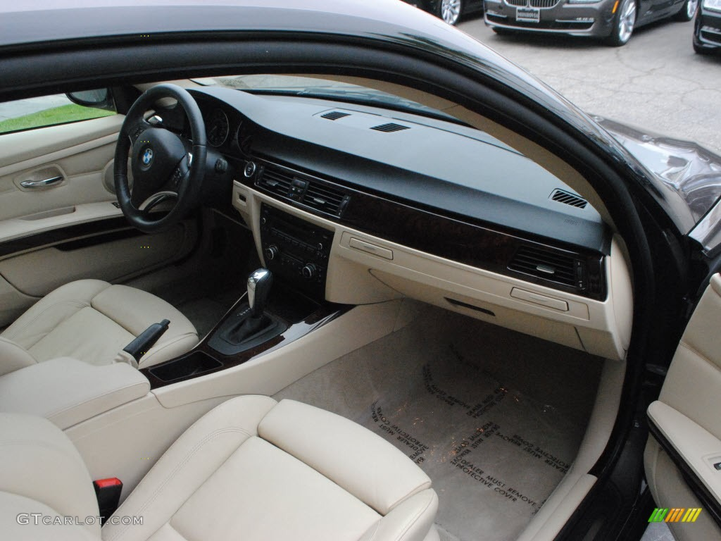 Beige Interior 2010 Bmw 3 Series 328i Coupe Photo