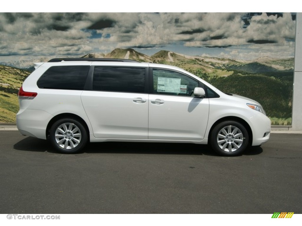 2012 toyota sienna limited awd exterior photos. Black Bedroom Furniture Sets. Home Design Ideas