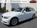 Alpine White 2009 BMW 3 Series 328i Sport Wagon