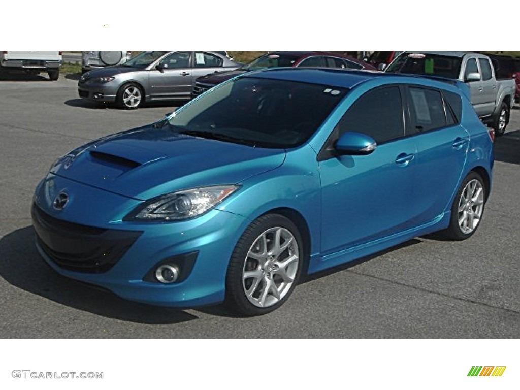 Celestial blue mica 2011 mazda mazda3 mazdaspeed3 exterior for Mazda 3 exterior colors