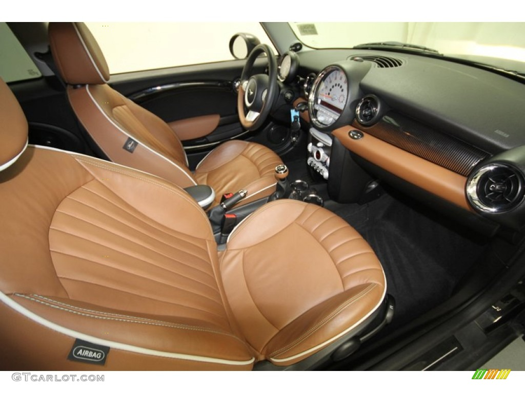 Mayfair Lounge Toffee Leather Interior 2010 Mini Cooper S
