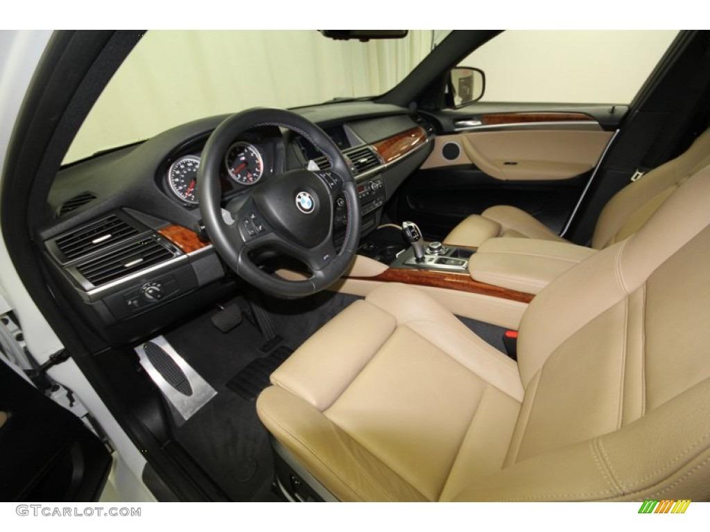 Bamboo Beige Merino Leather Interior 2011 Bmw X6 M M