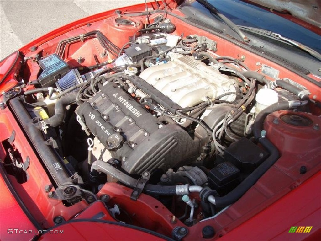 1996 Mitsubishi 3000gt Sl Coupe 3 0 Liter Dohc 24 Valve V6