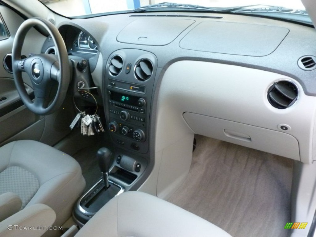 Cashmere Beige Interior 2008 Chevrolet Hhr Ls Panel Photo