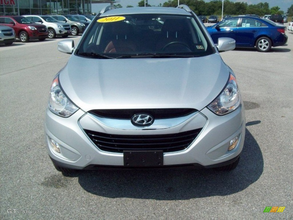 diamond silver 2011 hyundai tucson limited awd exterior photo 67768155. Black Bedroom Furniture Sets. Home Design Ideas