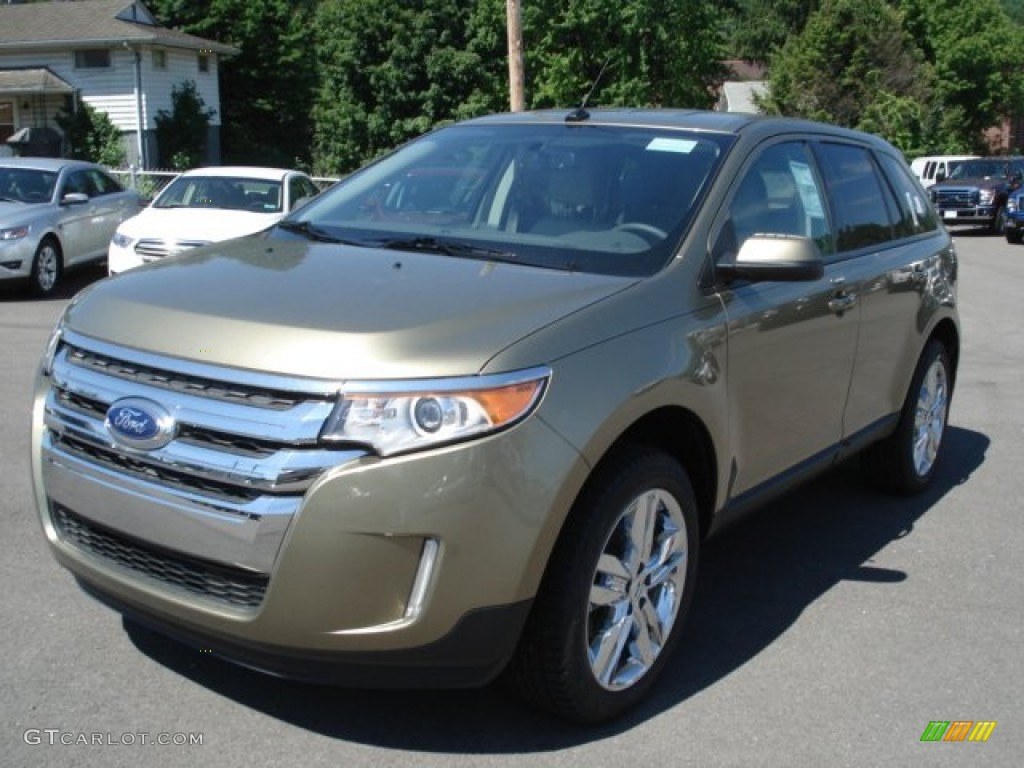 2013 ginger ale metallic ford edge sel awd 67745741 photo 3 car color galleries. Black Bedroom Furniture Sets. Home Design Ideas