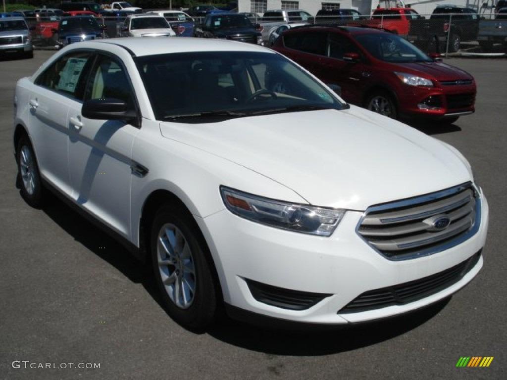 2013 Oxford White Ford Taurus Se 67745735 Gtcarlot Com