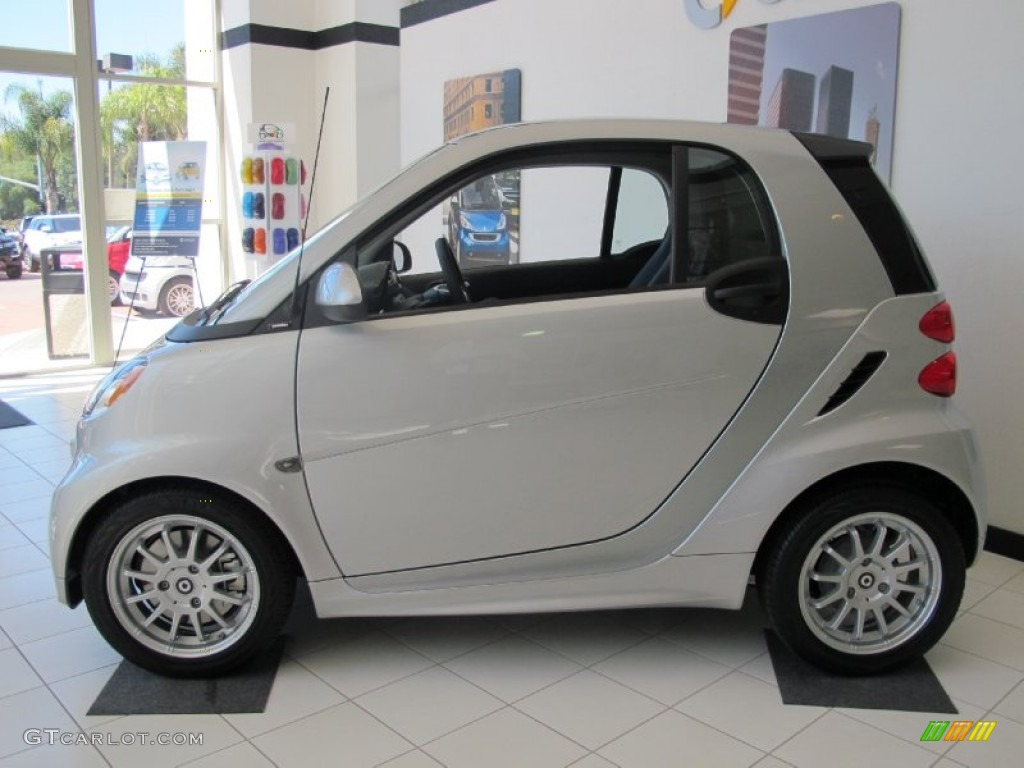 silver metallic 2013 smart fortwo passion coupe exterior photo 67776291. Black Bedroom Furniture Sets. Home Design Ideas