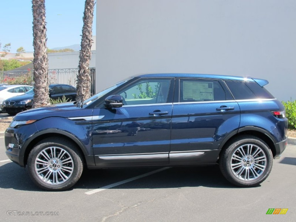 Range Rover Evoque Baltic Blue Baltic Blue Metallic 2...